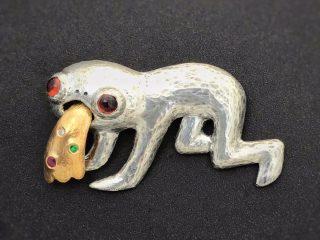 「売れないのが解っていても作ってしまう」とある彫金作家さんが作ったブローチのビジュアルがヤバイ