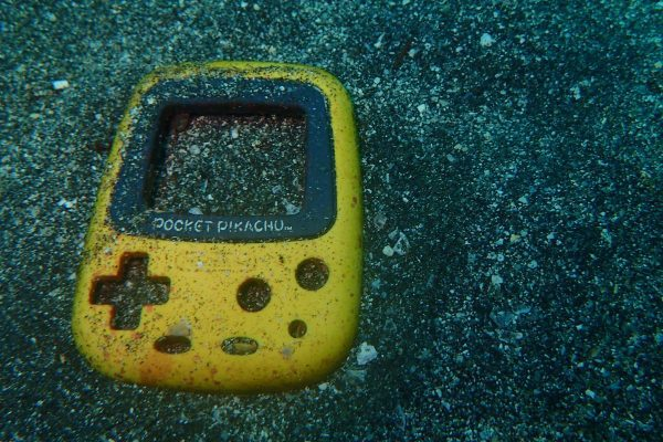海底のポケットピカチュウ