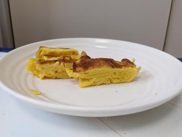 薄っぺらい卵焼き