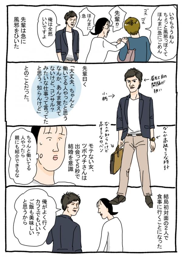 婚活漫画②