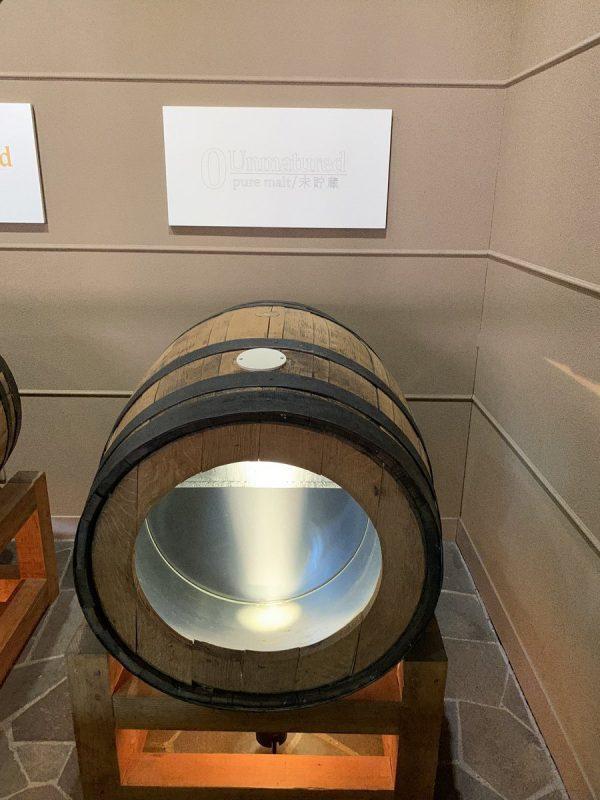 未貯蔵のウイスキー