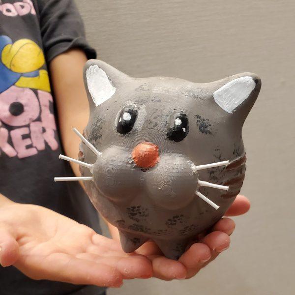 3D猫ちゃん