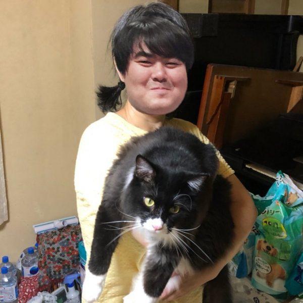スカート澤部渡さんのお母さんと猫